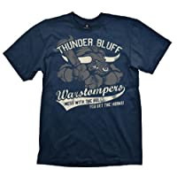 World of Warcraft T-Shirt Thunder Bluff Warstompers L