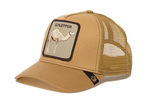 Goorin Bros. Animal Farm 'Hump Day' Camel Snapback Trucker Hat]()