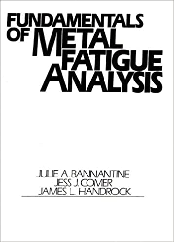 Fundamentals of metal fatigue analysis julie a bannantine fundamentals of metal fatigue analysis julie a bannantine 9780133401912 amazon books fandeluxe Image collections