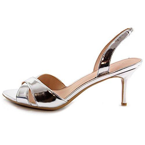 Calvin Klein Lucette vestido de la sandalia Silver