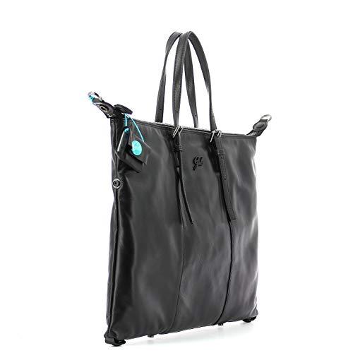 Black Borsa Bag Nero Flat L Gabs Goldie qtHw88