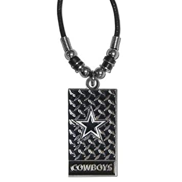 Amazon nfl dallas cowboys diamond plate rope necklace 20 inch nfl dallas cowboys diamond plate rope necklace 20 inch aloadofball Images