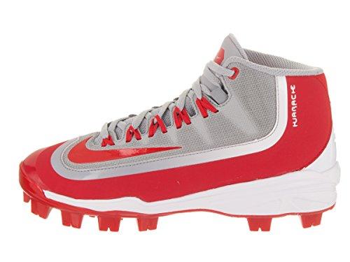 Nike Pojkar Huarache 2kfilth Pro (gs) Baseball Cleat Wolf Grå / Universitet Röd-vit