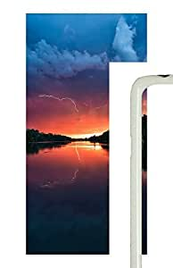 Samsung Galaxy S5 Sunset Landscapes PC Custom Samsung Galaxy S5 Case Cover White