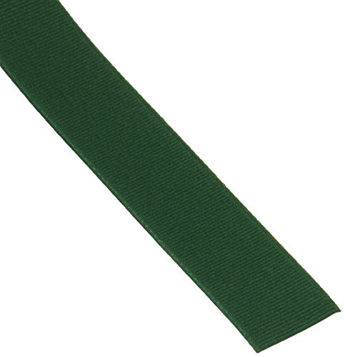 Schiff Ribbons 744-5 Polyester Grosgrain 7/8-Inch Fabric Ribbons, 100-Yard, Forest Green