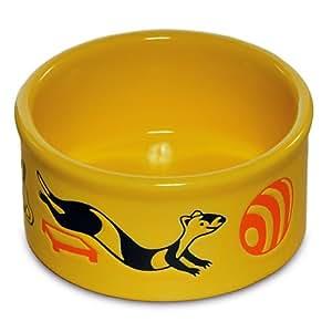 Prevue Ceramic Ferret Food Bowl