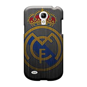 Shock Absorbent Cell-phone Hard Covers For Samsung Galaxy S4 Mini With Provide Private Custom Fashion Real Madrid 2013 Pattern IanJoeyPatricia