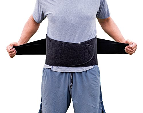 Pro Ice MEDIUM Back Ice Wrap Lumbar Support for Lower Back Pain Relief, Pinched Nerves, Sciatica - Waist Size 26''-33'', Model PI 700 Ice Packs Included by PRO ICE COLD THERAPY PRODUCTS (Image #6)