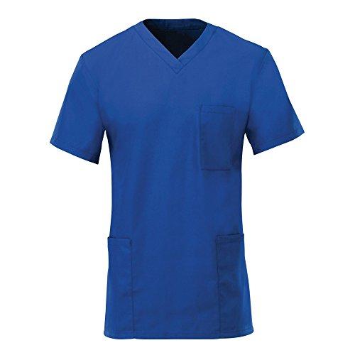 Alexandra Unisex Scrub Tunic Royal Blue L