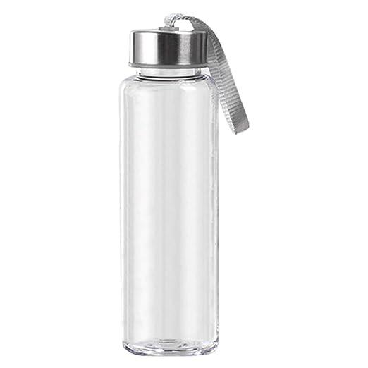 Whiie891203 300/400/500 ml Botella de Agua portátil de ...