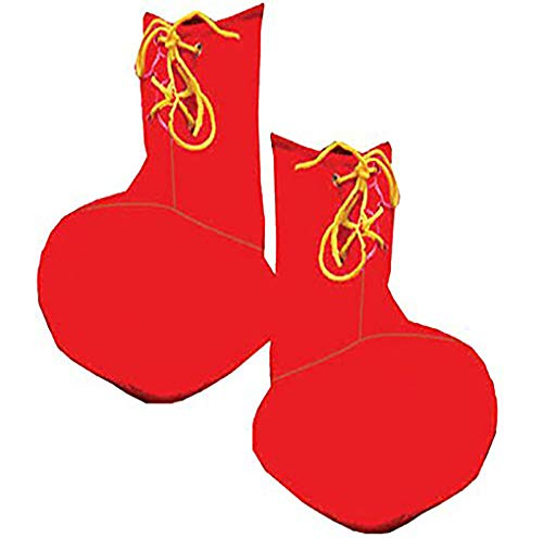 Dress Up America Kids Red Clown Shoe (Child Clown Shoes)