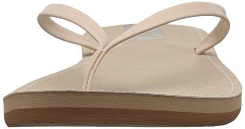 REEF Downtown, Sandalias Flip-Flop para Mujer Beige (Cream)