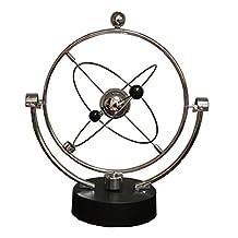 Kinetic Orbital Revolving Gadget Perpetual Motion Desk Art Milky Way Toy Office Decor Educational Science Art