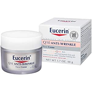 Eucerin Sensitive Facial Skin Q10 Anti-Wrinkle Sensitive Skin Creme 48g