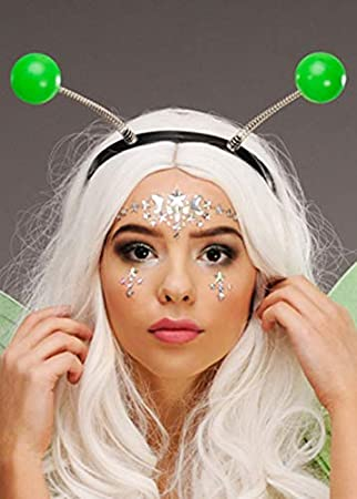 Magic Box Cabeza de Antena de Insecto Verde Boppers en Diadema
