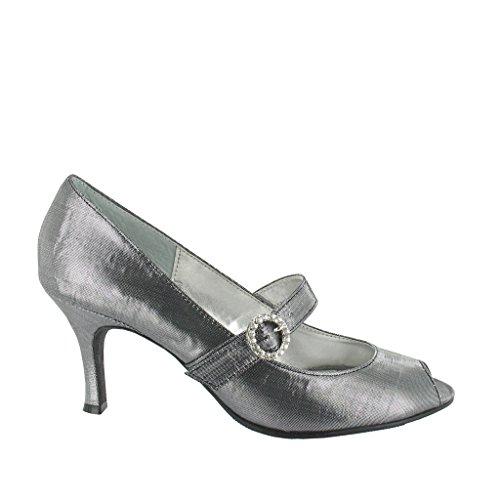LEXUS - Zapatos de vestir para mujer gris - Metalic Grey