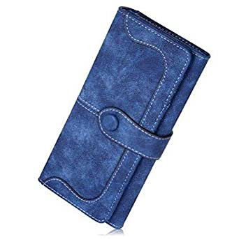 chic creations Blue Faux Leather For Women - Bifold Wallets