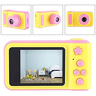 2 Inch Kids Camera with Camera Shutter Digital Video Camera Mini Protable Cute Camera for Birthday Gift Children Girls Boys(Pink)