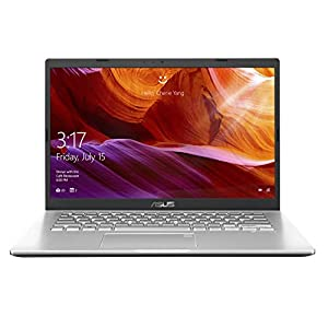 ASUS VivoBook 14 AMD Dual Core Athlon Silver 3050U 14-inch FHD Compact and Light Laptop (4GB RAM/1TB HDD/Windows 10/Integrated Graphics/Transparent Silver/1.60 kg), M409DA-EK715T