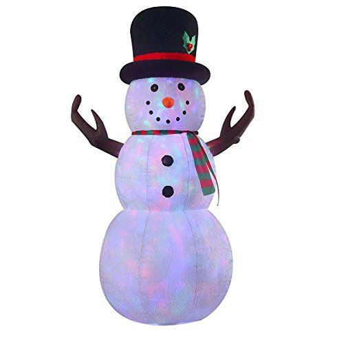 Outdoor Led Lighted Snowman - 1