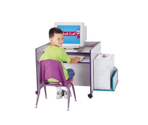 - Kydz Cpu Booth - Orange - School & Play Furniture