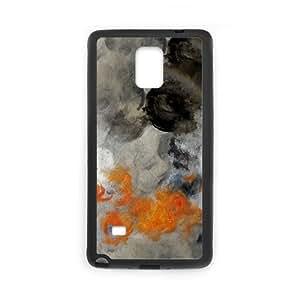 Samsung Galaxy Note 4 Cell Phone Case Black empty hurricane fires LAJ7128090
