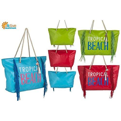 Tropical Con Flecos Beach Playa Aktive Bolsa IwZq4IE