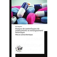 ANALYSE DE CONTREFACONS DE MEDICAMENTS ET REN