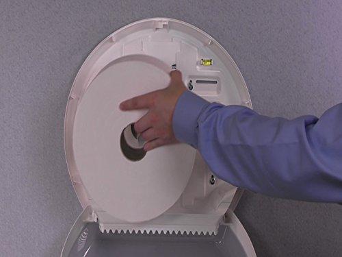 Tork 554000 Dispensador de papel higiénico Jumbo / Sistema T1 de papel higiénico Elevation / Blanco: Amazon.es: Industria, empresas y ciencia