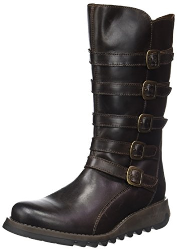Fly London Seca860fly, Stivali Donna Marrone (Dark Brown)
