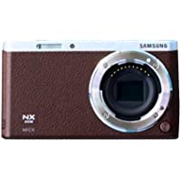 Samsung NX Mini Mirrorless Digital Camera (Brown Body Only) - International Version (No Warranty)