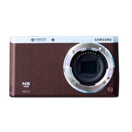 Samsung NX Mini Mirrorless Digital Camera (Brown Body Only) - International Version (No Warranty) by SAMSUNG