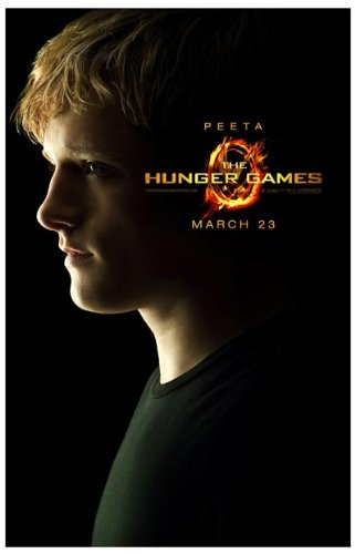 Hunger Games Poster - Promo Flyer 2012 Movie - 11 X 17 - Josh Hutcherson Peeta