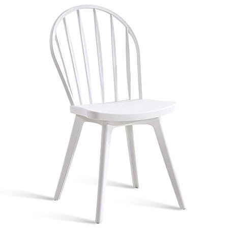 Amazon.com: Sillas de comedor asiento respaldo Nordic ...