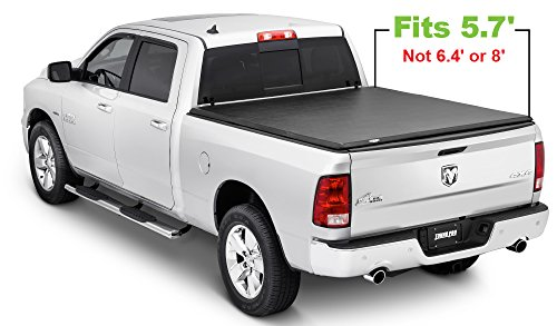 Tonno Pro HF-251 Black Hard Fold Truck Bed Tonneau Cover 2009-2018 Dodge Ram 1500 | Fits 5.7
