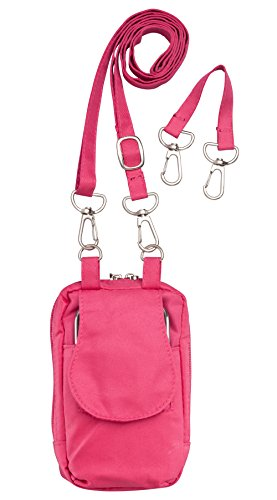 Smart Phone Wallet & Purse   Two Inside Pockets   Wristlet and Adjustable Strap   By Trenton Gifts - Backpack Nylon Habitat