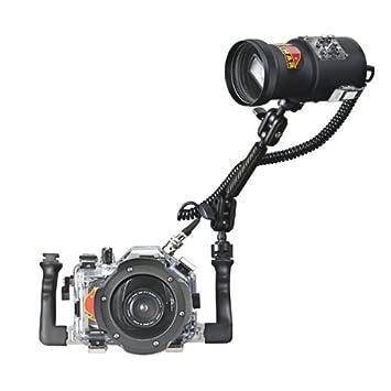 Bajo el agua flash para cámara réflex Canon - Pack Carcasa ...
