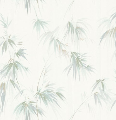 (Brewster 414-05018 Edulis Cream Bamboo Texture Wallpaper)