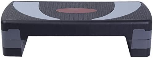Fitness 30 Aerobic Step Exercise Stepper Platform Adjust 4-6 8 w// Riser by SNC