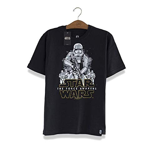 Camiseta Star Wars Stormtroopers Preto