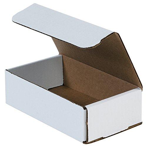 "Box Partners Corrugated Mailers, 8"" x 5"" x 4"", 50 Each per B"