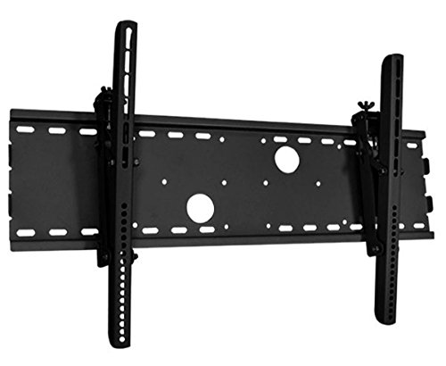Black Tilting Wall Mount Bracket for NEC PlasmaSync 42MP2 (PX-42VM2A) Plasma 42 inch HDTV TV (Tv Plasma Plasmasync Nec)