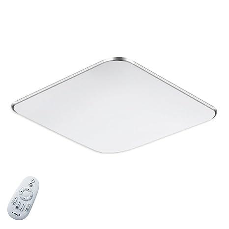 36W Regulable LED Luz de techo moderna Plata Ultraslim Luz de techo Dormitorio Cocina Corredor Salón Lámpara Luz de pared Luz de ahorro de energía ...