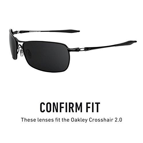 Crosshair Plusieurs Oakley 0 Noir Verres Chrome MirrorshieldElite — Options Pour Rechange 2 Polarisés De BroCedx