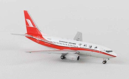 Shanghai Airlines (JC4CSH607 Jc Wings 1:400 Shanghai Airlines (China) B737-700 Model Airplane)