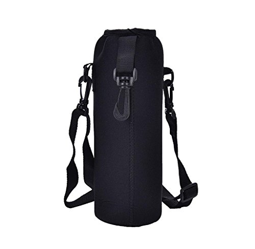 XXYsm 1000ML Water Bottle Carrier Insulated Cover Bag Holder Strap Pouch...