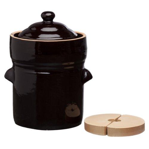 EuroQuest Imports Fermenting Crock 5 Liter product image