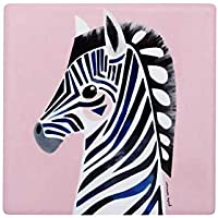 Maxwell & Williams Pete Cromer Wildlife Ceramic Square Coaster 9.5cm Zebra