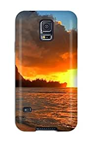 Eric J Green LjIpDdQ25crVkh Protective Case For Galaxy S5(beach Earth)