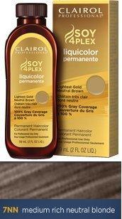 Clairol Professional Liquicolor Permanente Hair Color 7NN Medium Rich Neutral Blonde